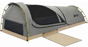 Kodiak Canvas one person swag tent