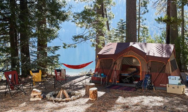 choose a proper campsite for your family