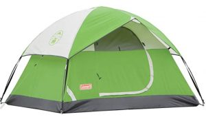 Coleman sundome one person tent