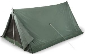 Compact sized A frame tent