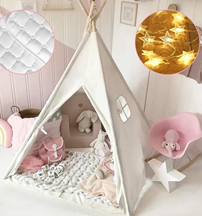large space teepee tent for toddlers