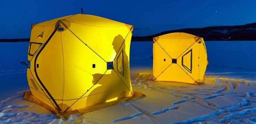 different kinds of ice fishing tent