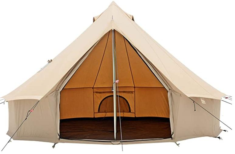 glamping hot tent