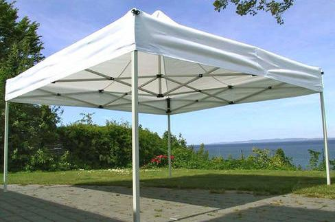 how to anchor a canopy on concrete