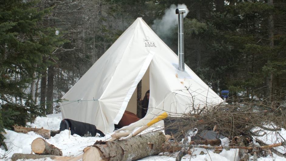 advantage of hot tent