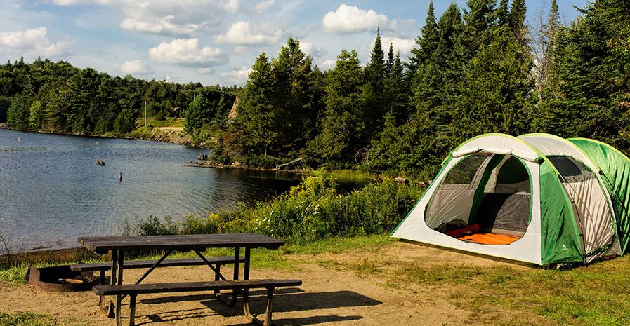 choose campsite for kids