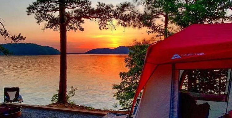 identify good spot for camping with toddlers