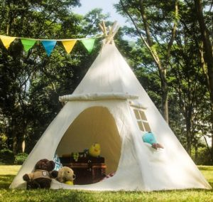 camp your tent properly to stay cool