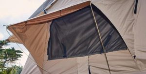 how to wash tent windows