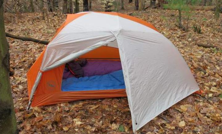 cover your tent with a tarp