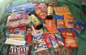 snacks for camping
