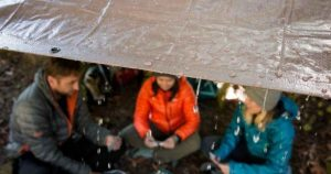 tips to camp in the rain