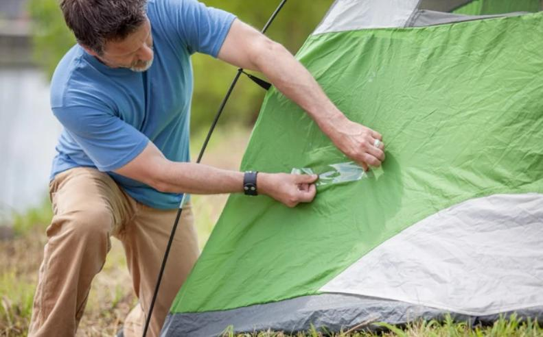 tips to patch a tent