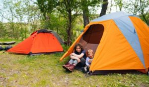 take extra camping tents for your children