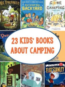 let toddlers reads for camping