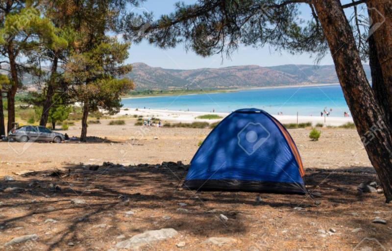 shade can cool your tent