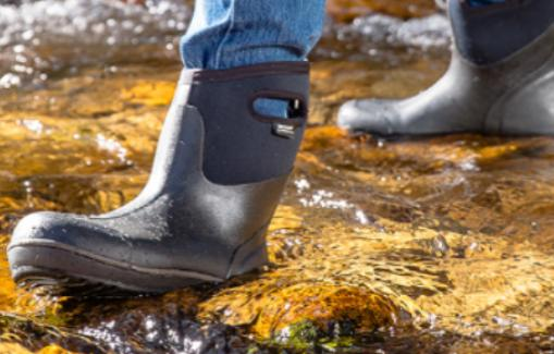 take rain shoes for camping in rainy days