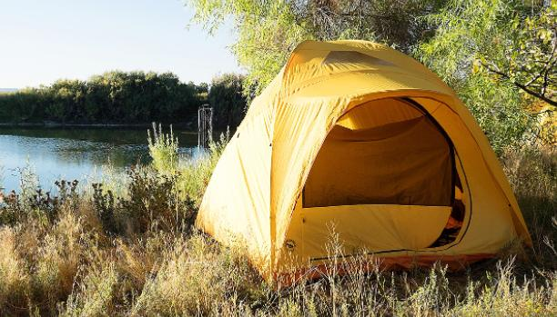 hacks to live in a tent long term