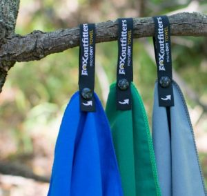 bring drying towel for camping in the rain