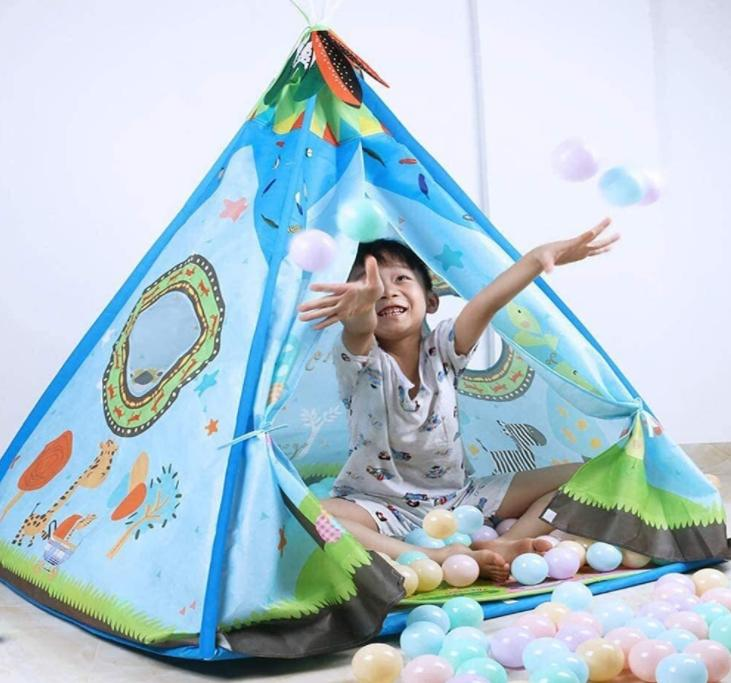 activities for kids in teepee tent