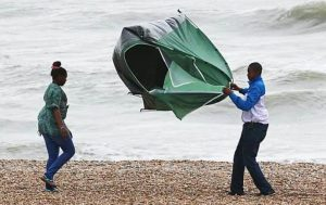 tips to secure your tent in wind