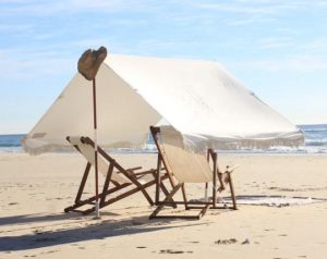 remove side walls of your beach tent