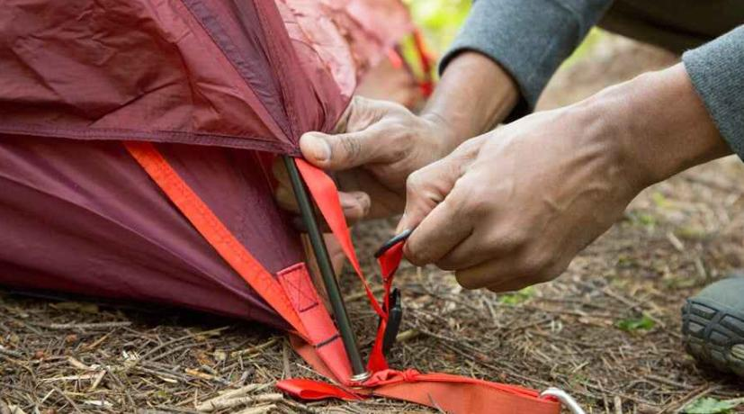 tips to make your tent stand in wind