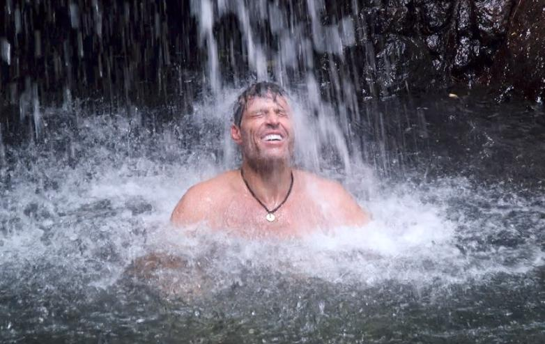 ways to taking shower when camping
